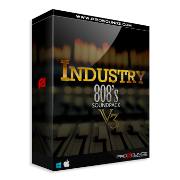 Industry 808s Bundle Pack (1-3)